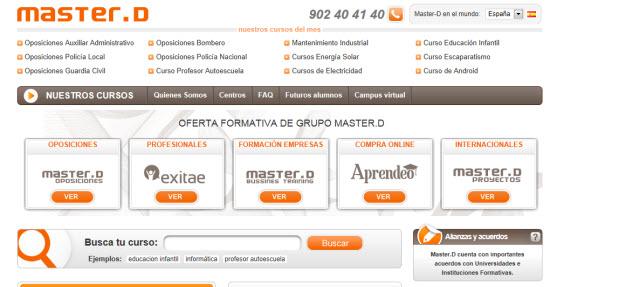 Formación bonificada para empresas en master.d