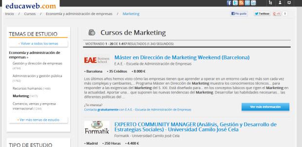 Formación en dirección de marketing
