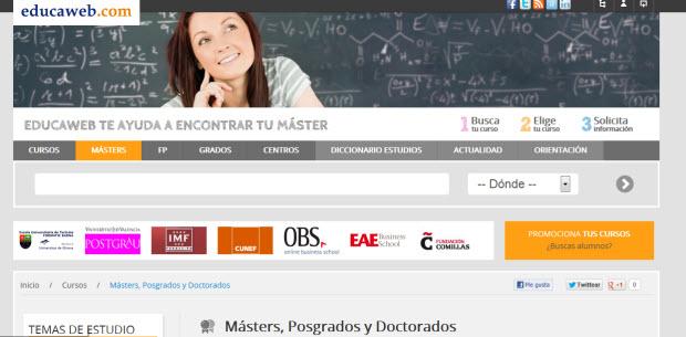 Masters de postgrado