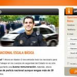 Opositar a policía nacional