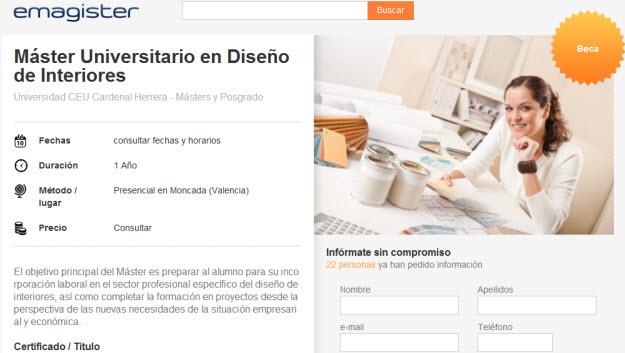 Curso de interiorismo dise os arquitect nicos for Programa interiorismo online