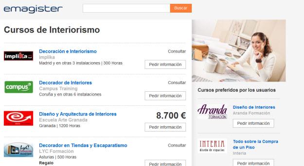 Formaci n interiorismo opiniones y precios de cursos online for Curso de diseno de interiores gratis