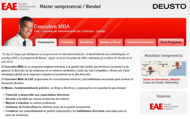 Hacer un MBA enEDP Masters