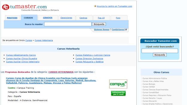 Cursos de veterinaria online