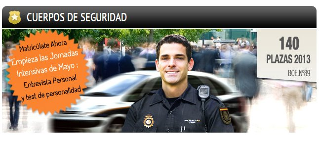 requisitos para policia nacional