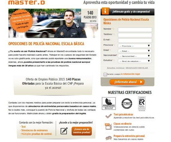 Prepara tu futuro profesional con los cursos de función pública en Madrid