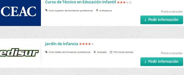 Cursos educacion infantil homologados con becas y for Curso interiorismo gratis