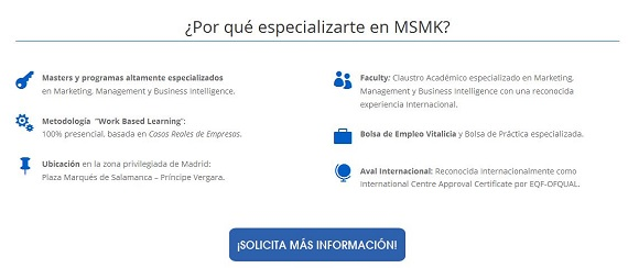 Madrid School of Marketing cursos