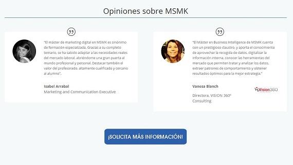 Madrid School of Marketing precios
