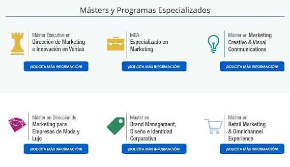 Madrid School of marketing masters