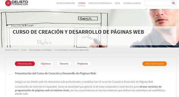 Curso creación de páginas web