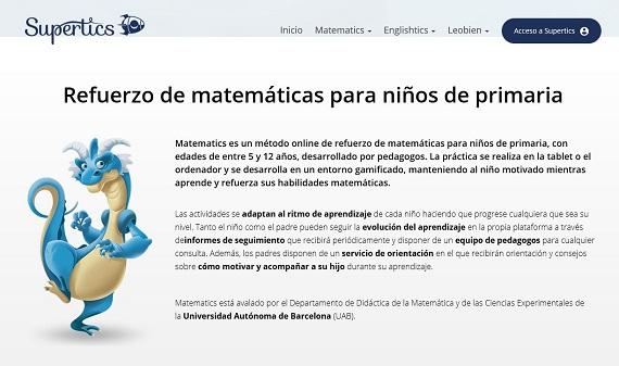 supertics matemáticas