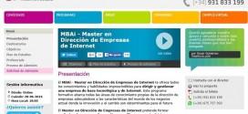 Master Dirección de Empresas de Internet: temario y opiniones