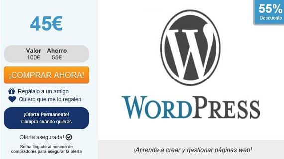curso de wordpress precios