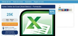 Curso Excel: precios online del nivel básico y avanzado