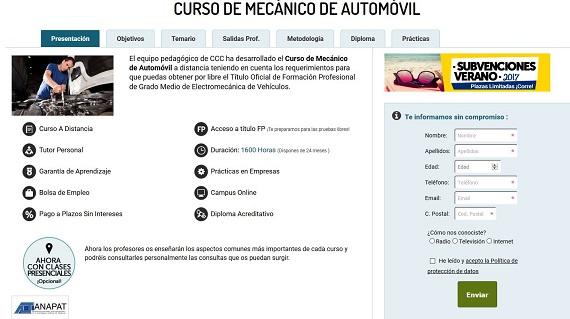curso de mecánica de automóvil
