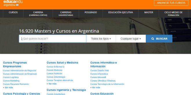 Educaedu Argentina: opiniones y comentarios del buscador de cursos