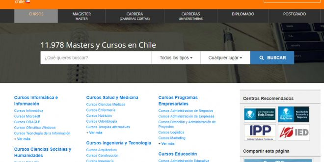 Educaedu Chile: opiniones del buscador de cursos