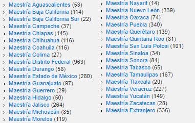 maestrias educaedu mexico