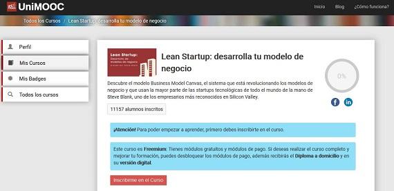 curso lean startup