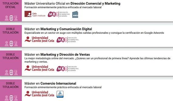masters online marketing