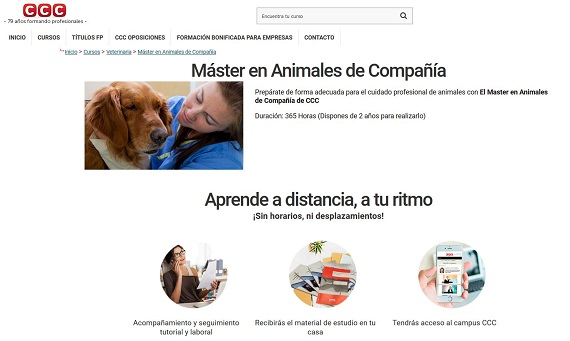 curso veterinario a distancia