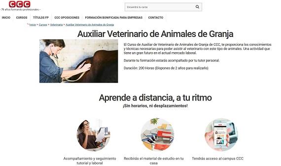 curso veterinario online