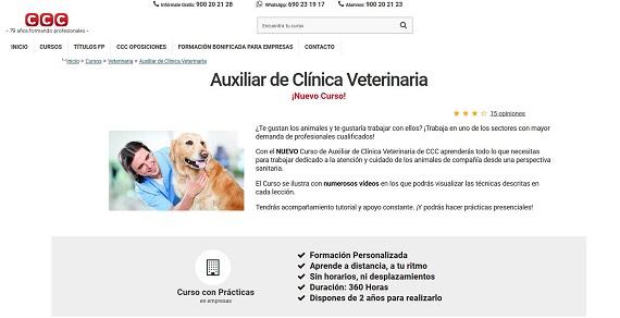 Curso veterinario online y a distancia: para clínica, para granjas y temario