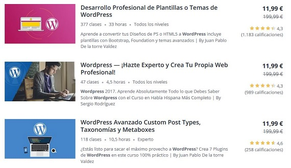 udemy wordpress